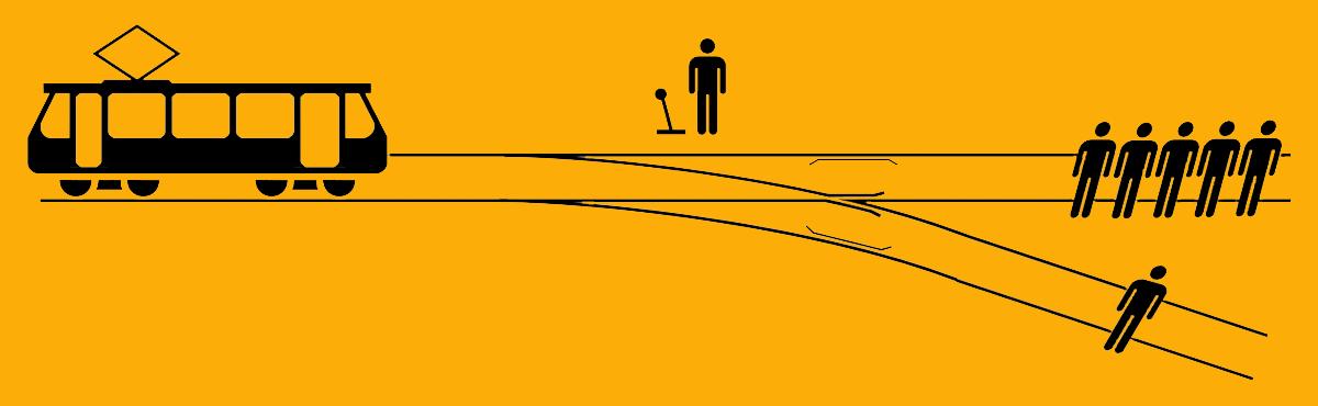 Das Straßenbahndilemma - wen retten, wen opfern?