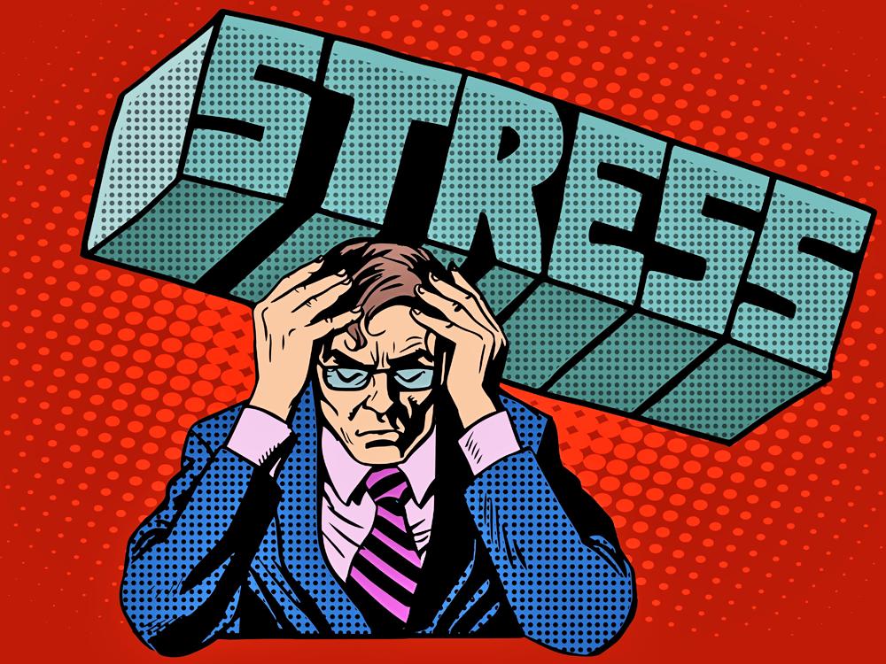 Stress sabotiert Veränderungen