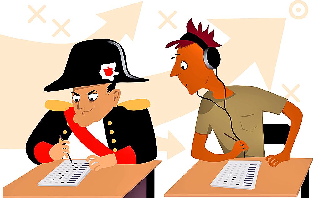 Lernen die neuen Helden von Napoleon?!