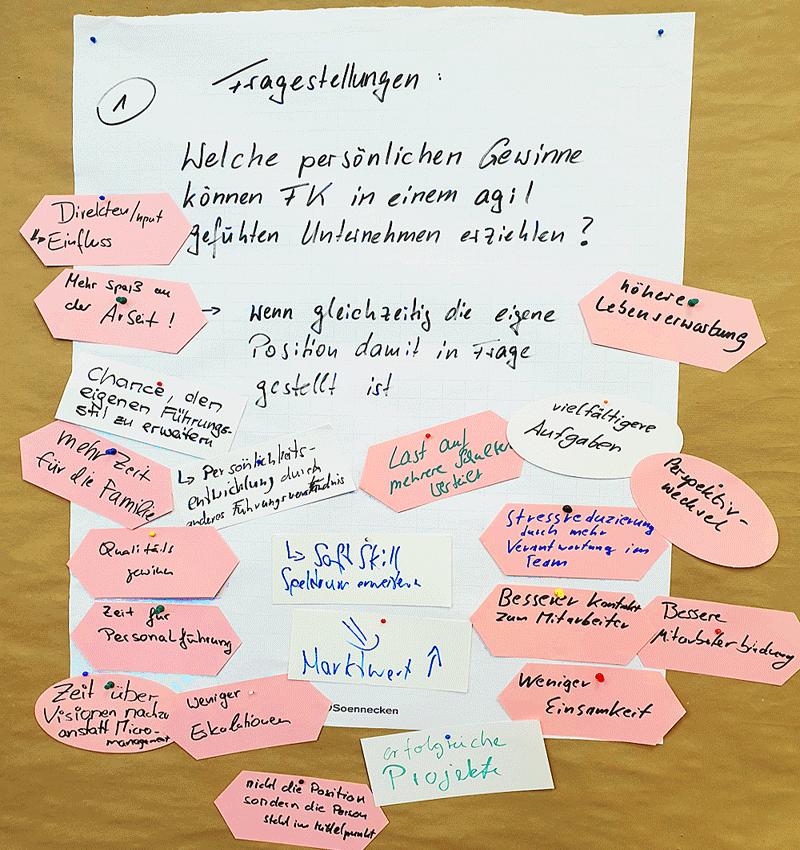 Bei einem Workshop beim VDI in Stuttgart setzte ich ganz bewusst in Bezug auf das Scheitern agiler Prinzipien eine widersprüchliche Frage in den Raum: