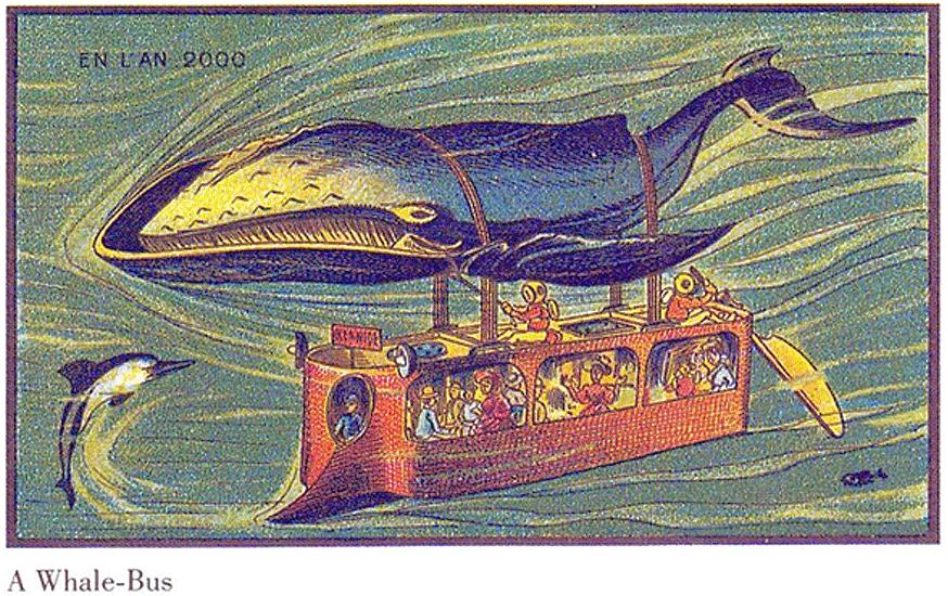 Ein Wal-Bus