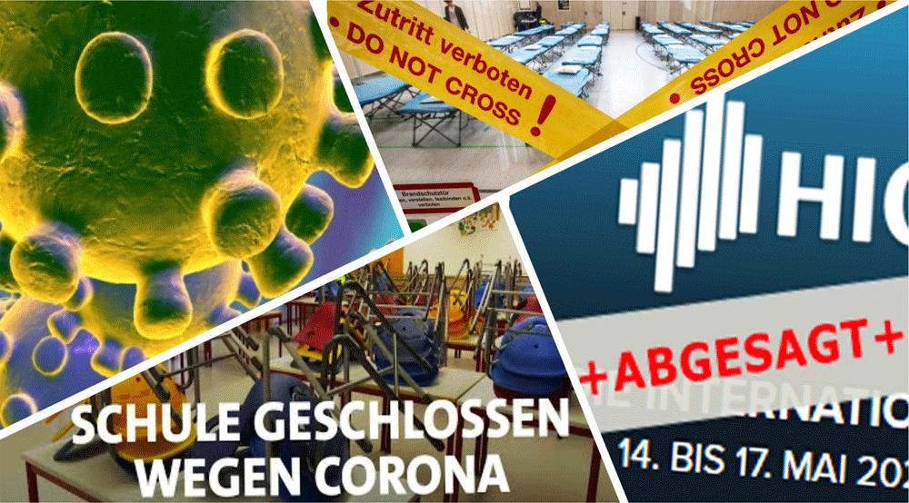 Der Coronavirus infiziert nicht nur Menschen - sondern auch die Wirtschaft
