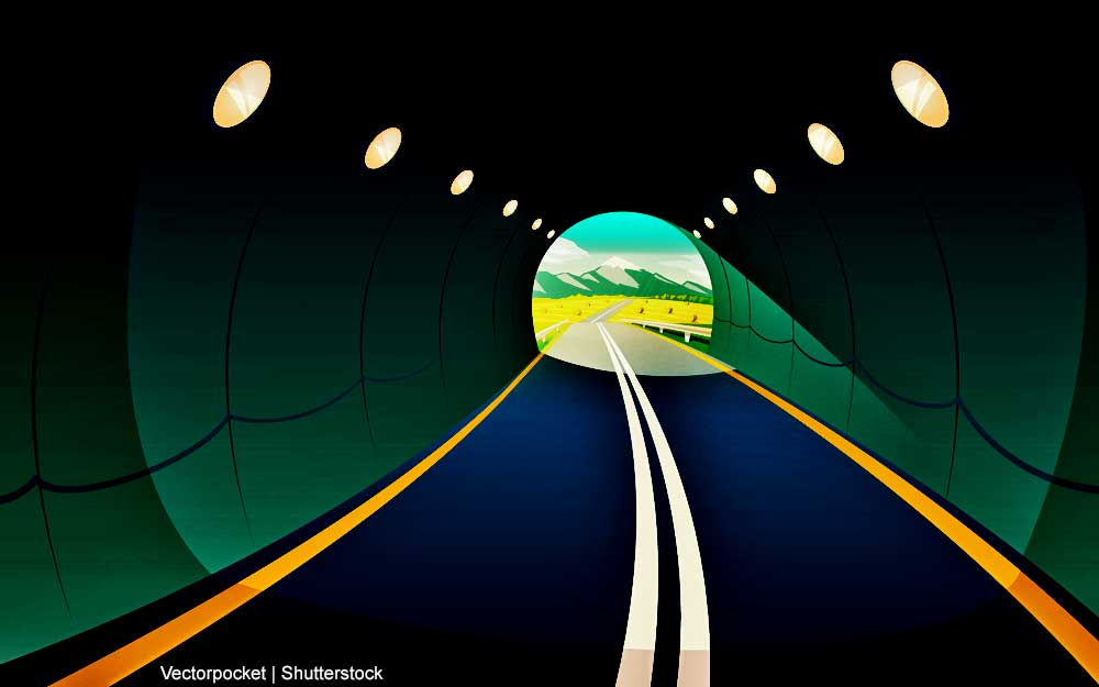 Licht am Ende des Tunnels - doch was heißt das konkret jetzt in der Corona-Krise?!
